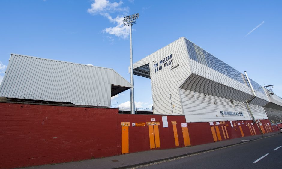 Tannadice Park, home of Dundee United.