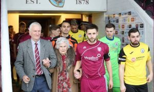 'Hilda, give us a wave' — Arbroath centenarian given star turn at Gayfield