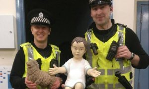 Officers from Police Scotland found Jesus on Tuesday.