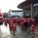 Santa runners take to the streets of Perth