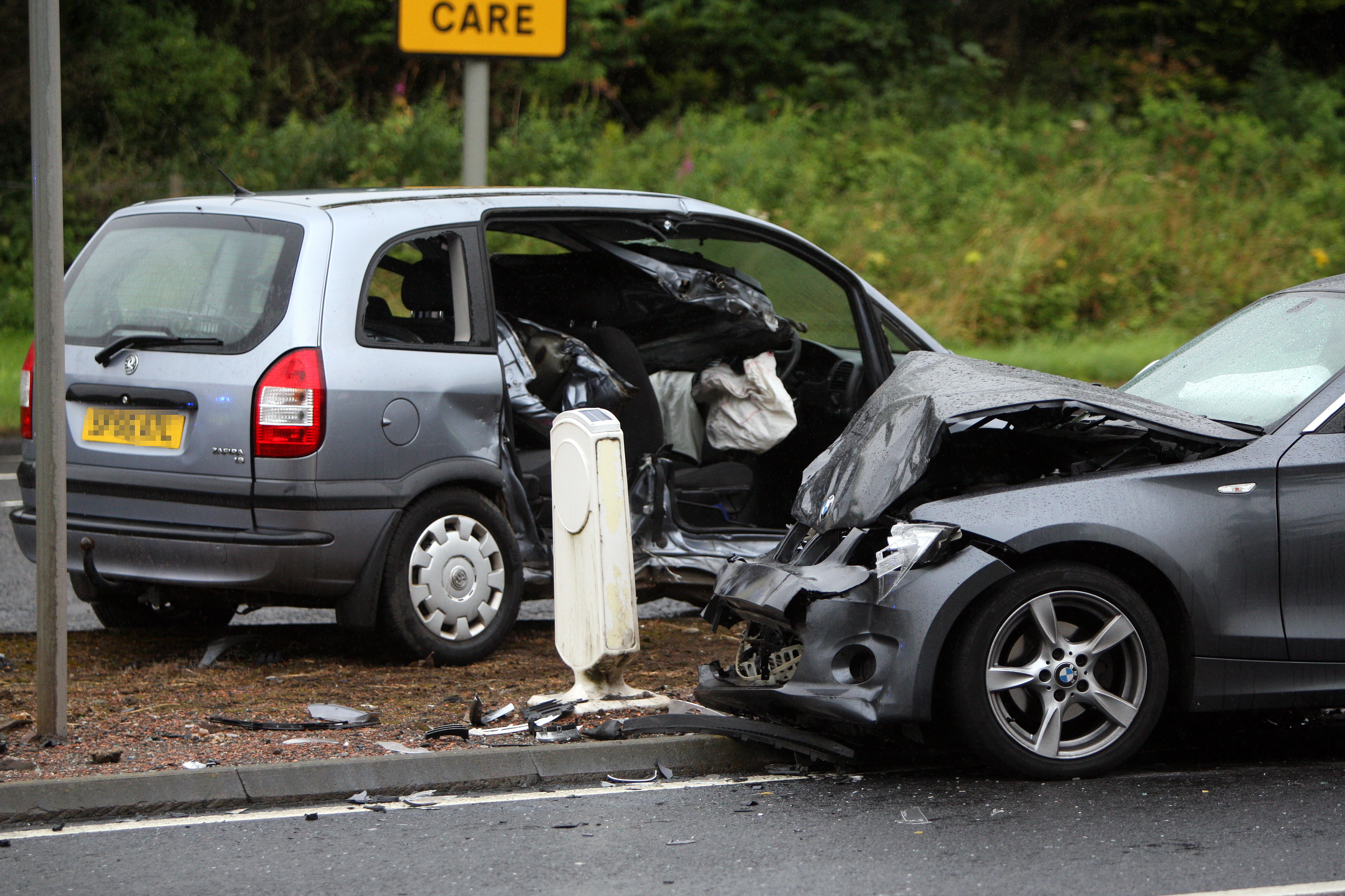road traffic accident - The Courier