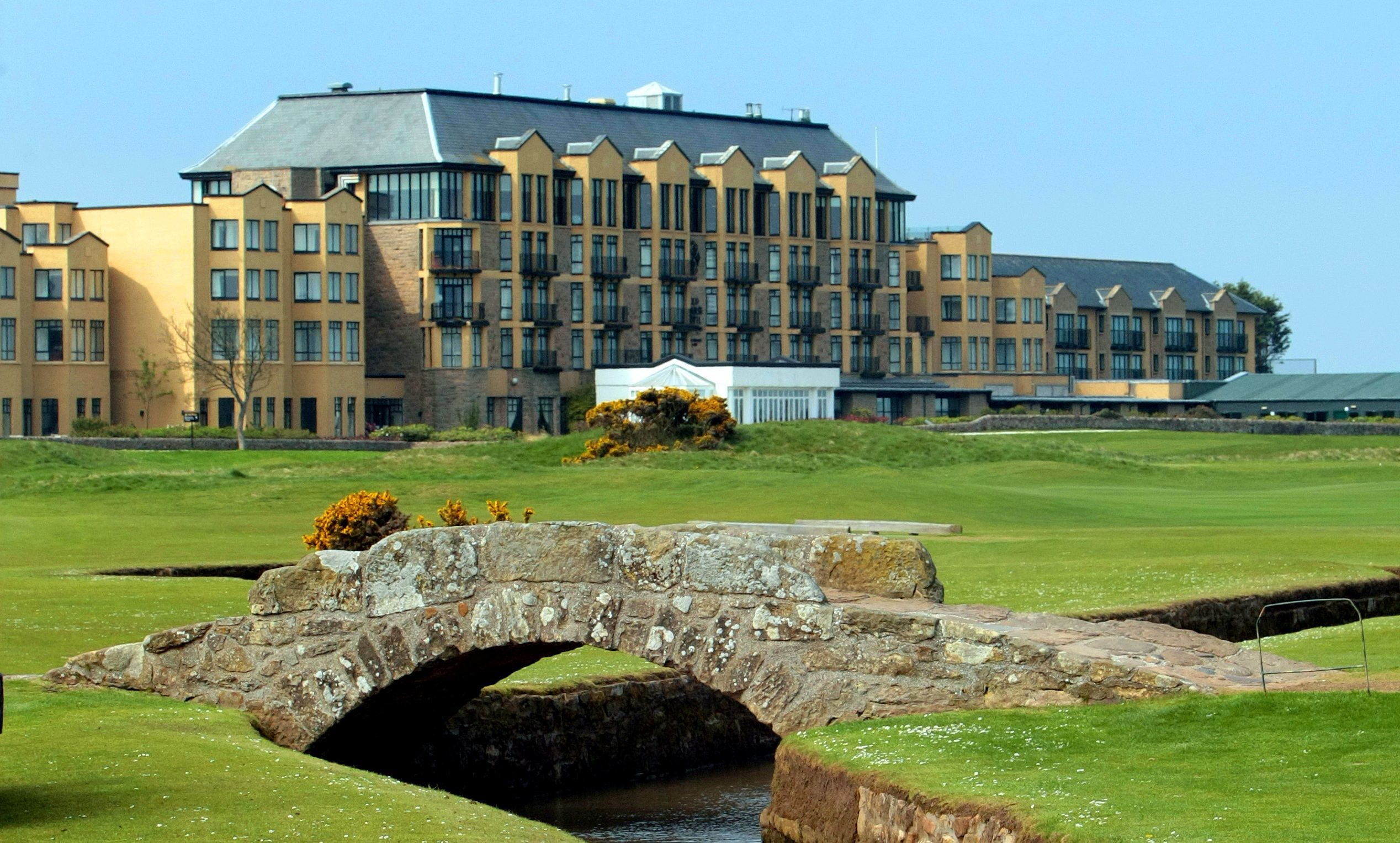 The Old Course Hotel.