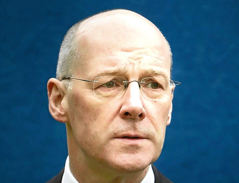 Deputy First Minister John Swinney.