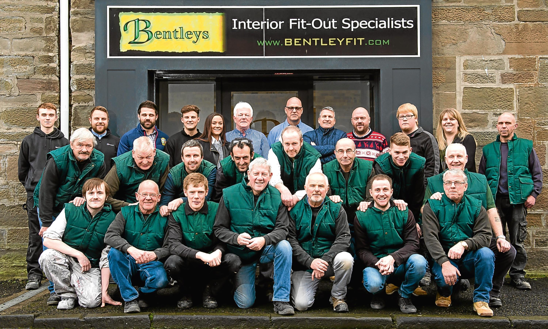 The Bentleys shopfitting team