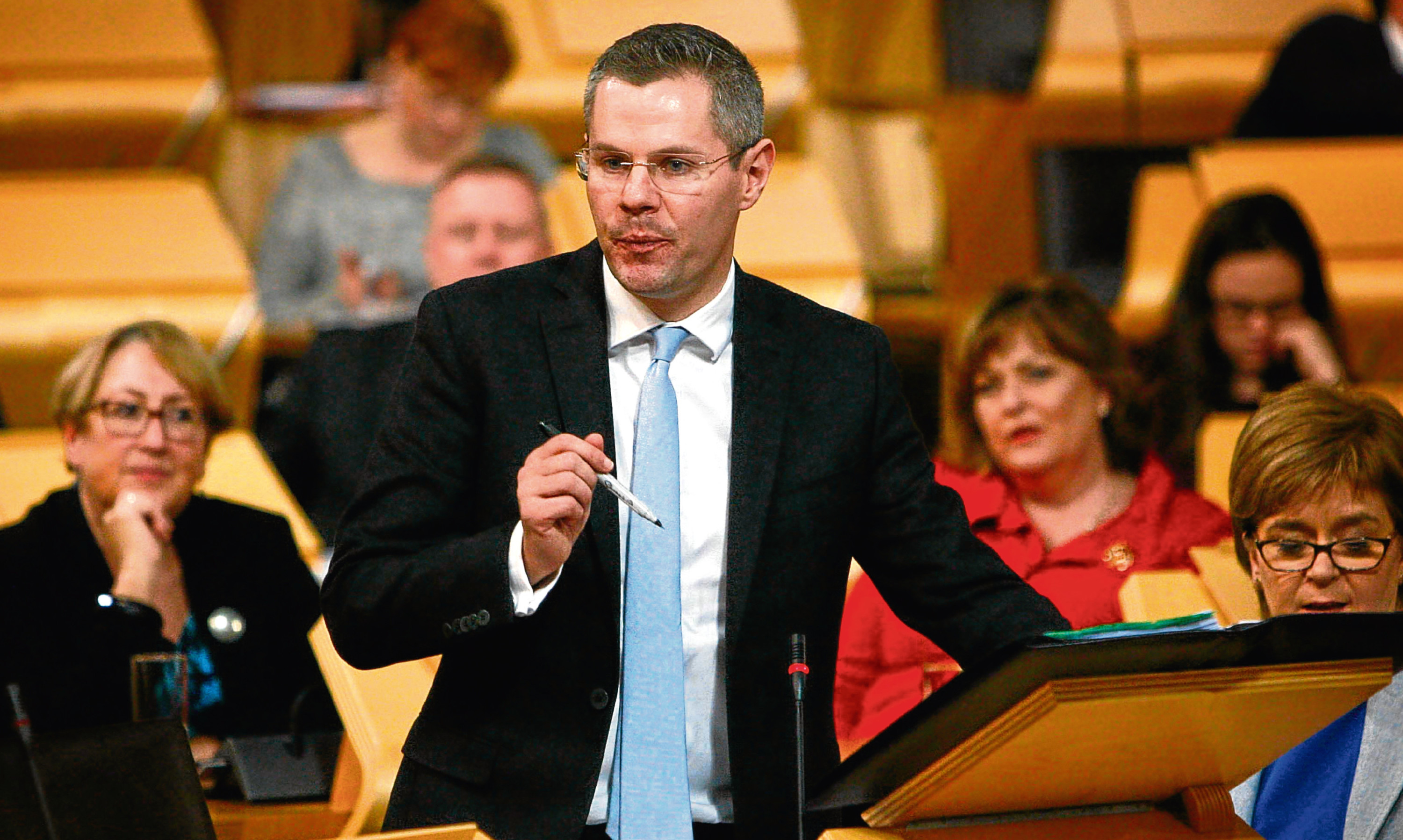 Derek Mackay is close to a deal to see his budget plans passed.