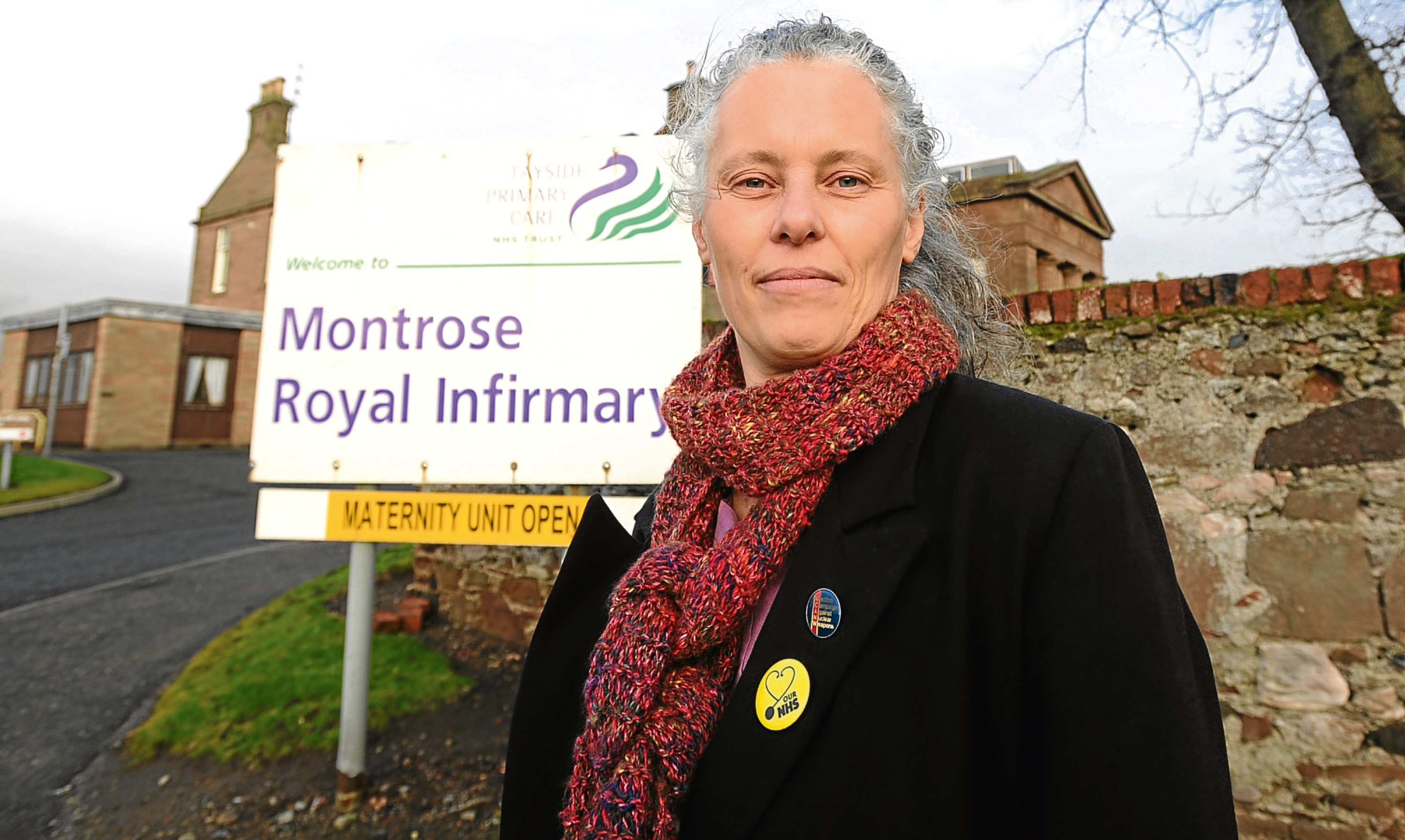 GP Dr Kristien Hintjens fears for the future of Montrose Royal Infirmary.