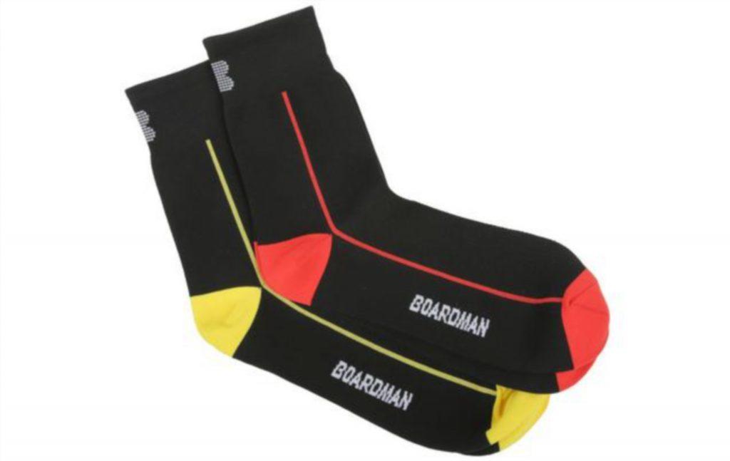 Boardman Men's Cycling Socks, £7.99.