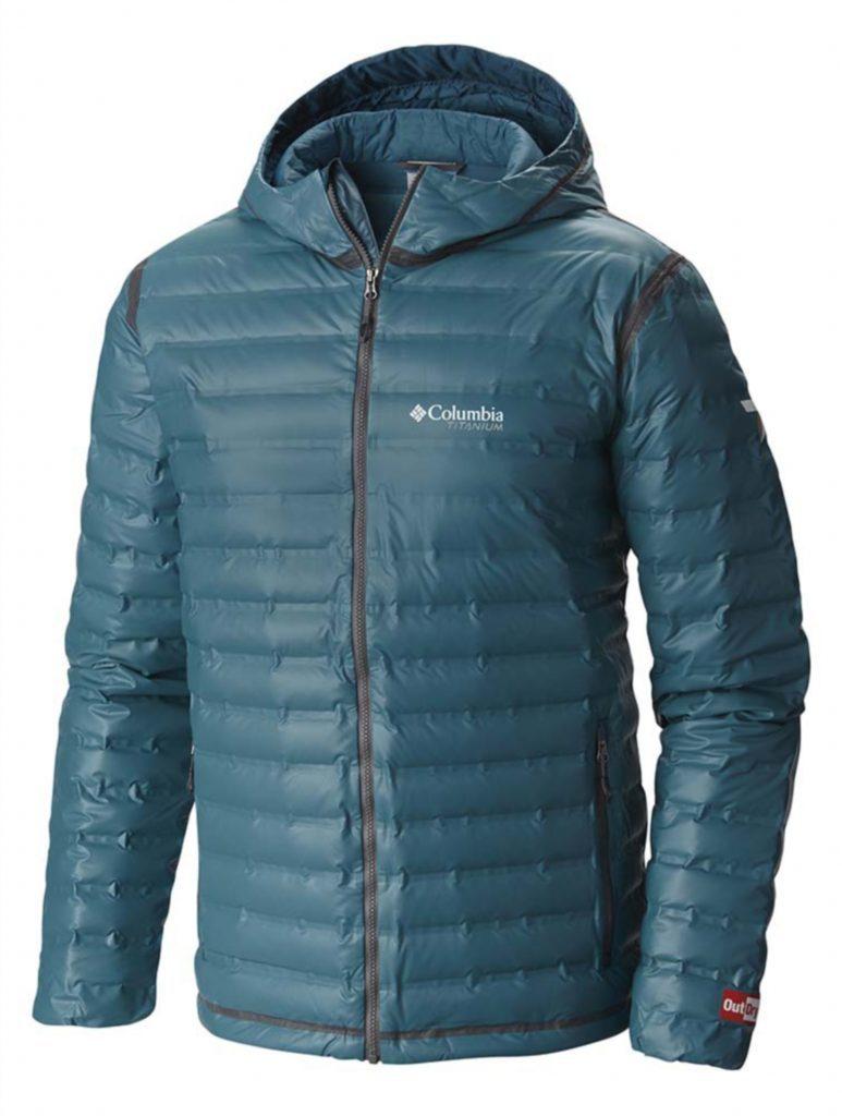 The men's Outdry™ Ex Gold Down Jacket retails at around £220.