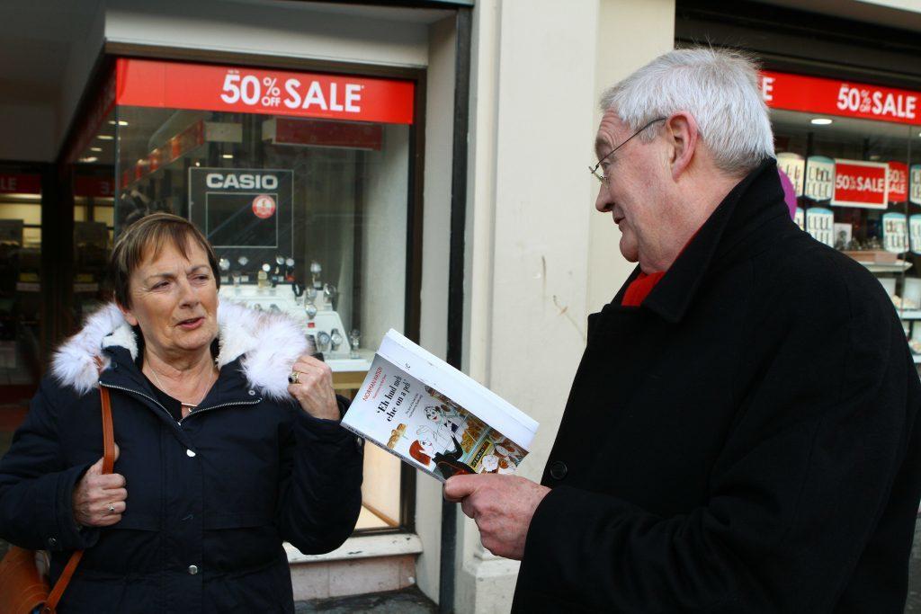 Maureen Charlton and Alan Steadman.