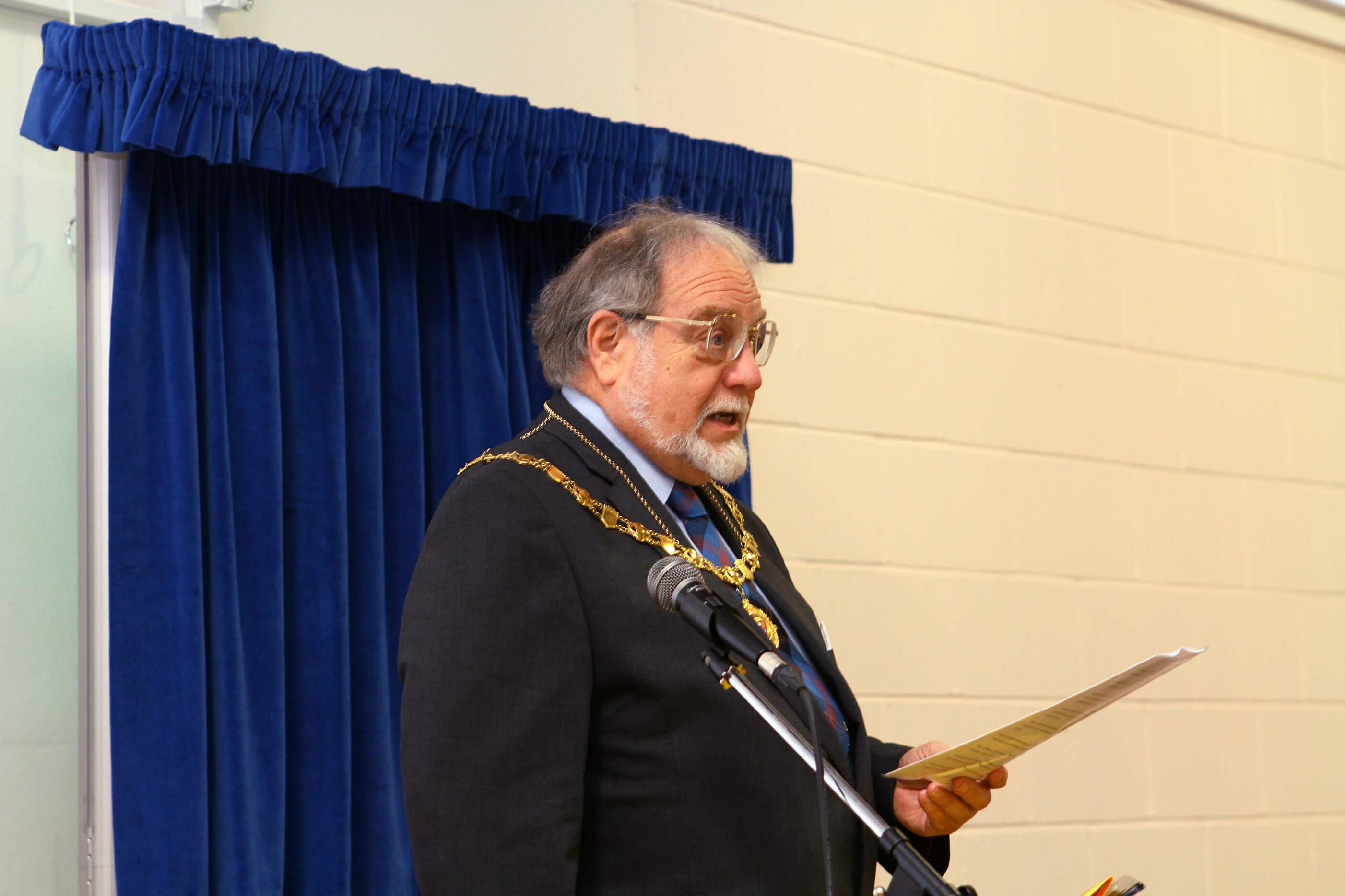 New Angus Provost Alex King.