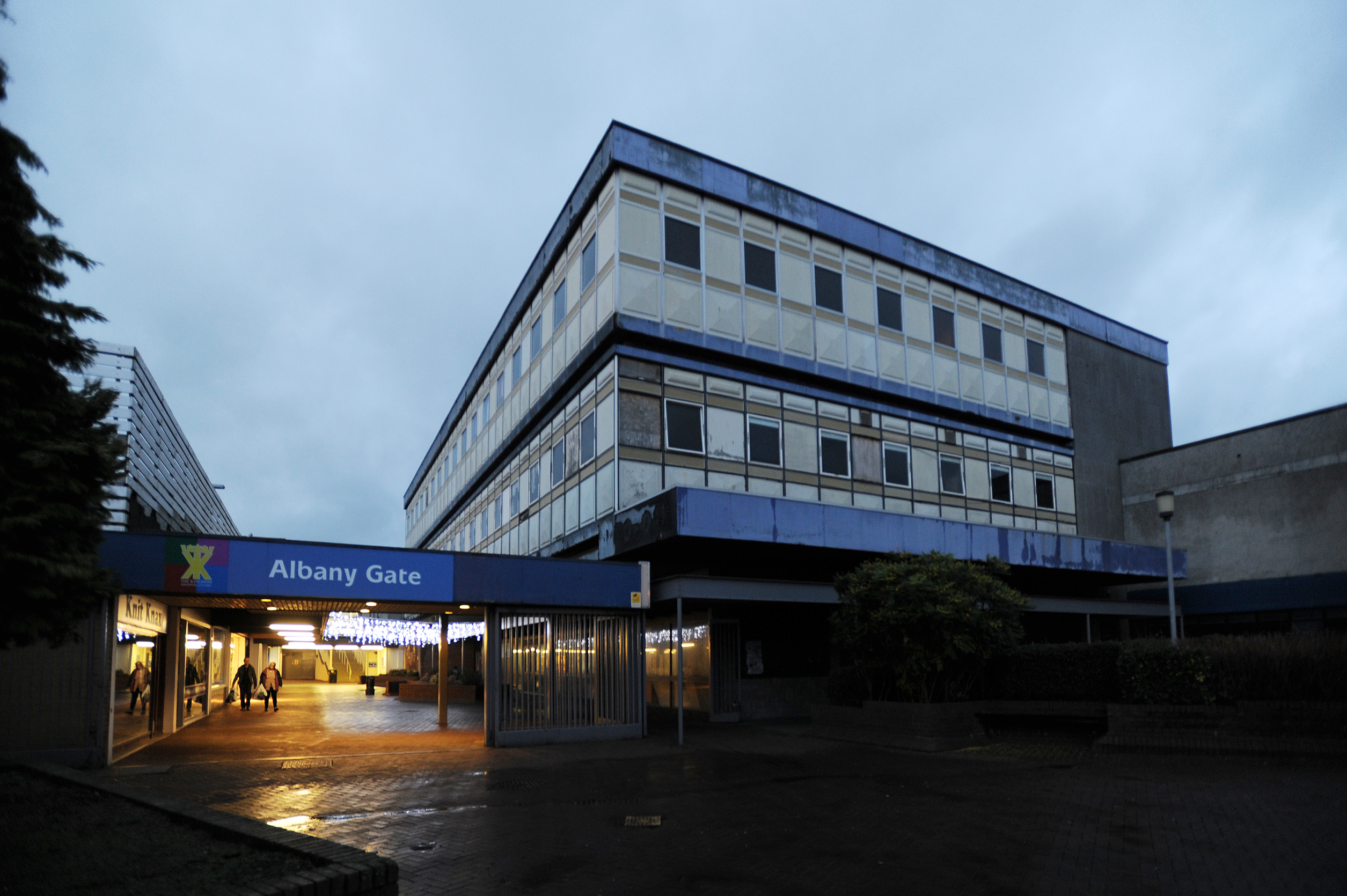 Demolition plans are afoot for the former Co-op department store.