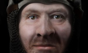 Former Dundee University scientist reveals the face of Robert the Bruce
