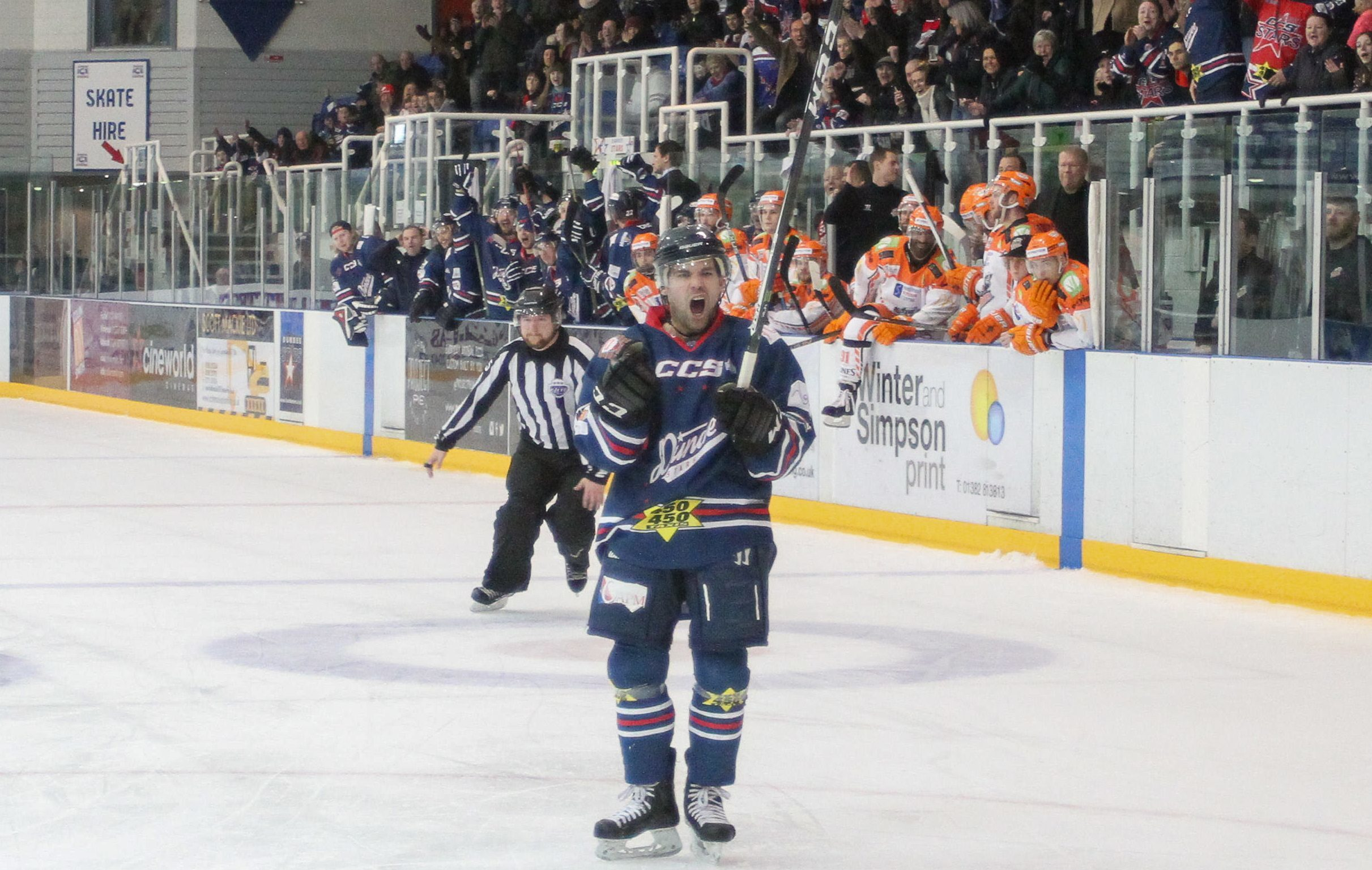 Dundee Stars are back on the telly