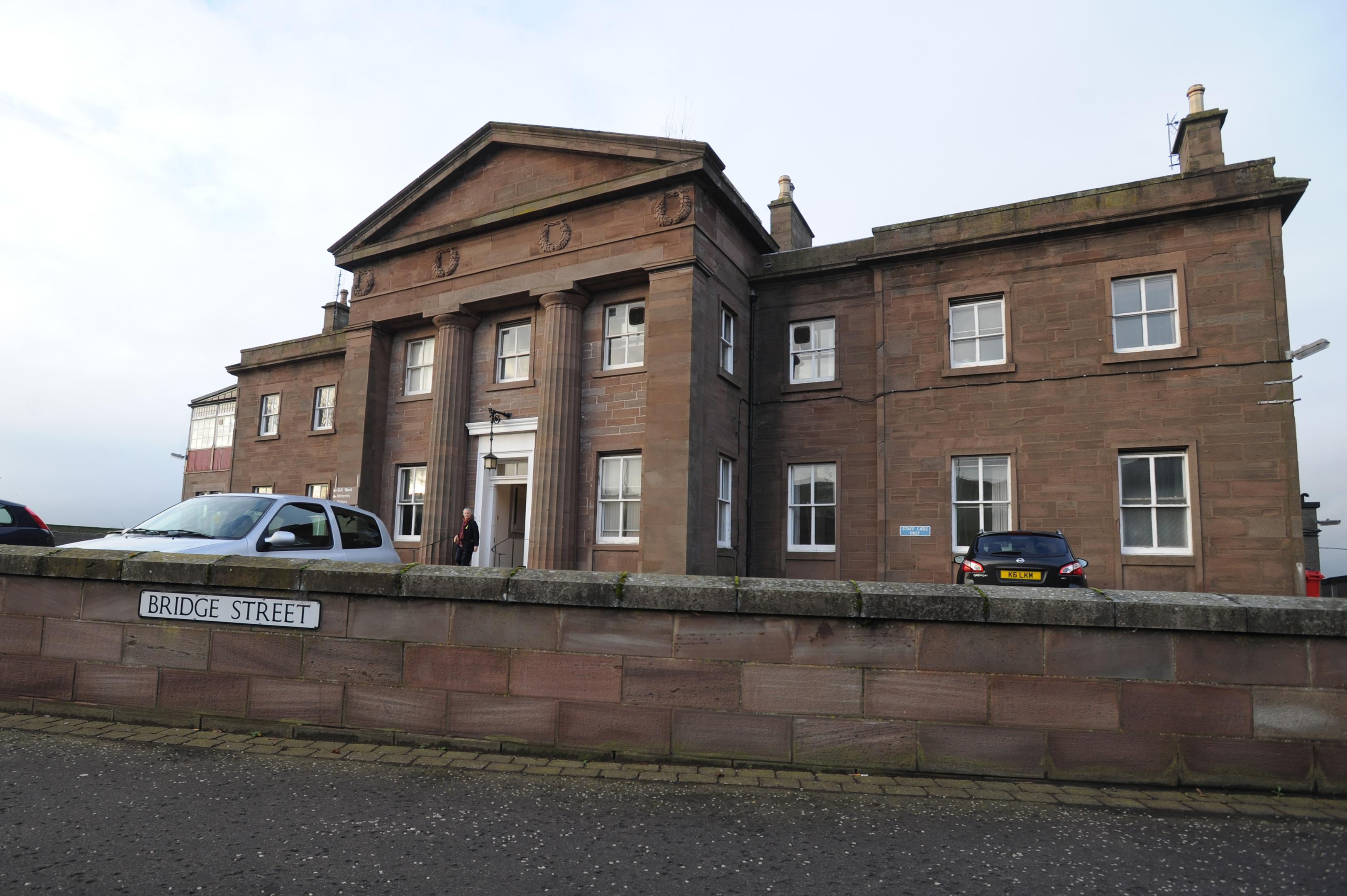 Montrose Royal Infirmary.
