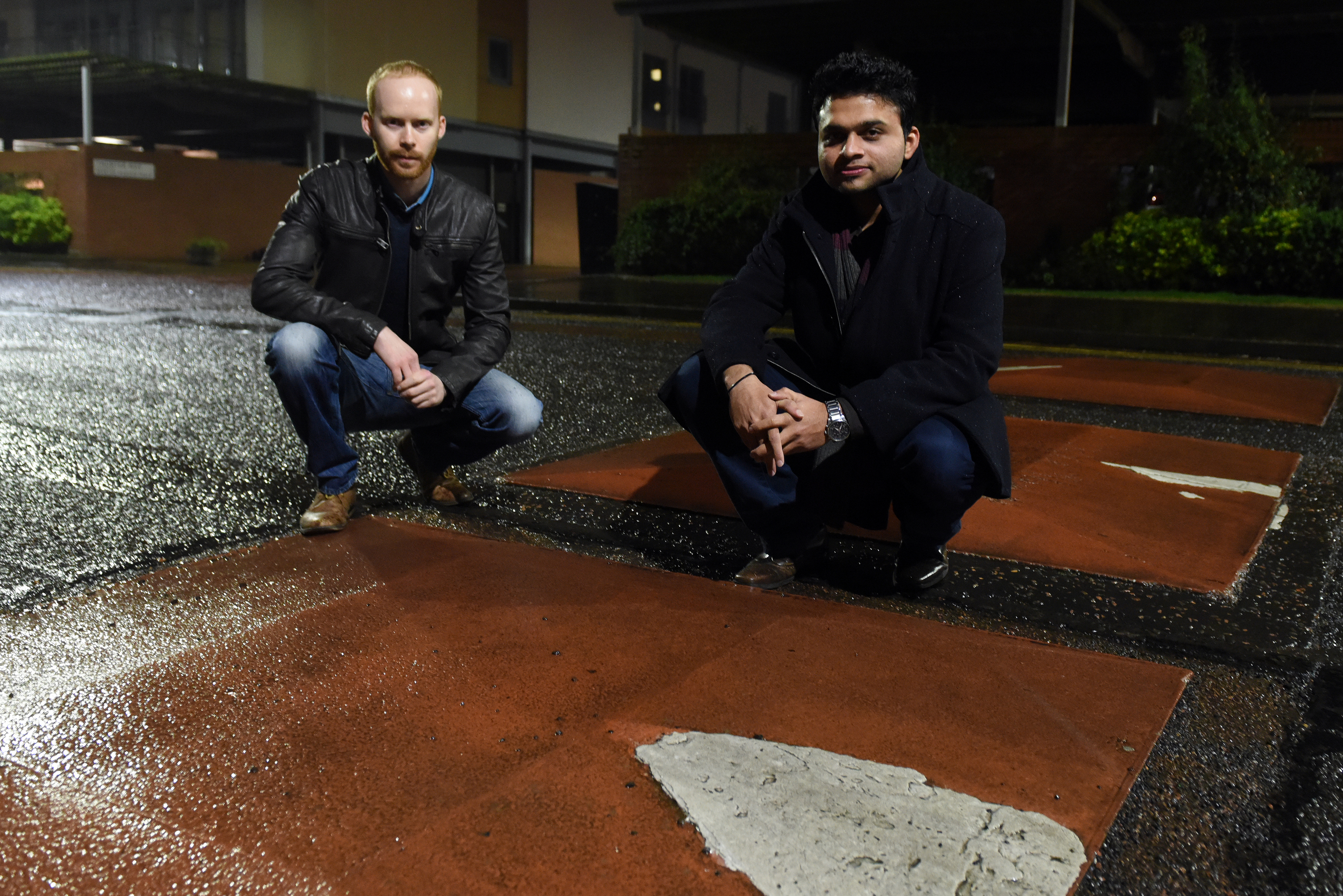 Residents say speed bumps are damaging their cars.