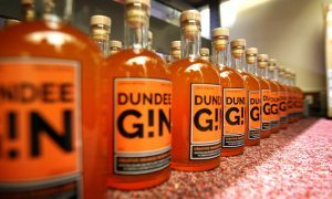 Dundee Gin is about to hit the shelves.