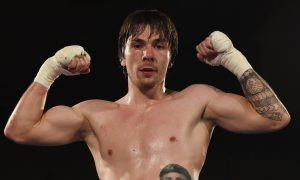 Mike Towell, 25, professional boxer.