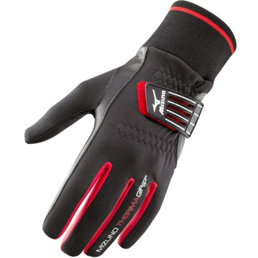Thermagrip gloves from Mizuno, £14.99.