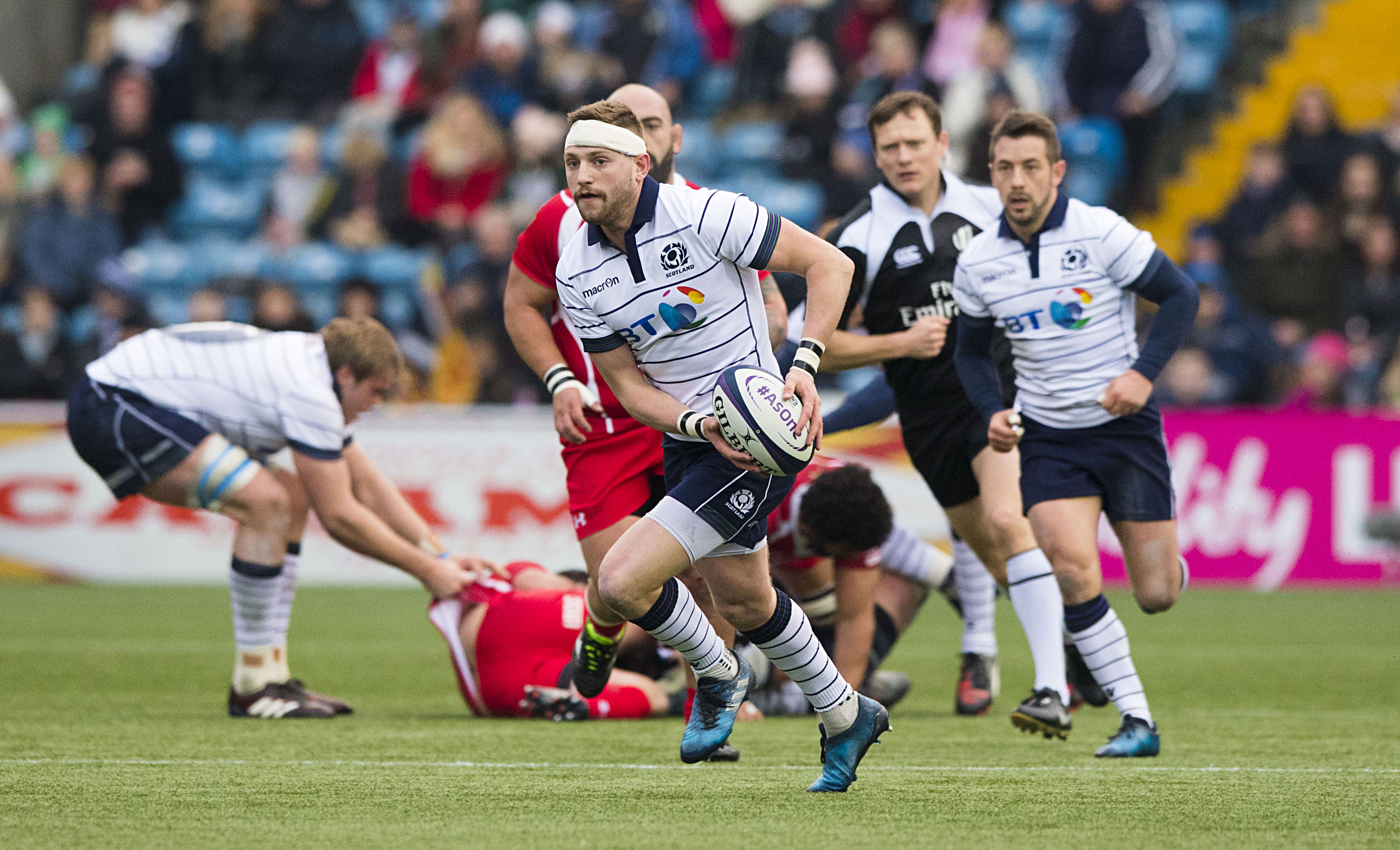 """Gregor Townsend wants Finn Russell to """"bottle up and keep"""" his current form."""