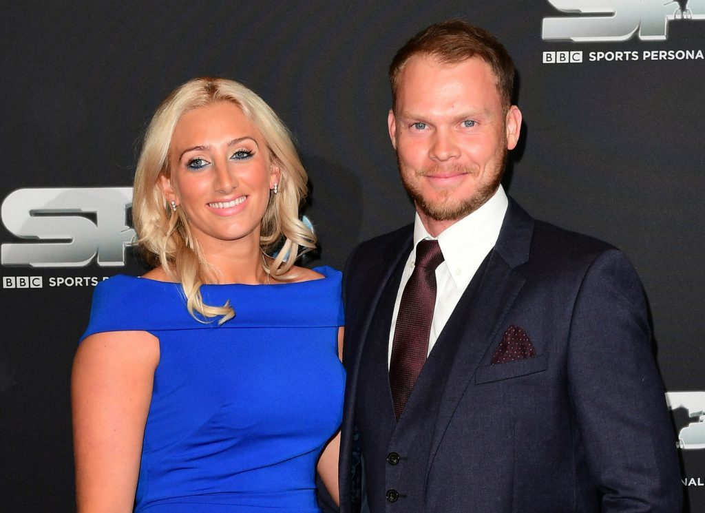Danny Willett and his wife Nicole arrive for the BBC Sports Personality of the Year Awards.