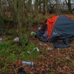 EXCLUSIVE: Amazon workers sleeping in tents near Dunfermline site
