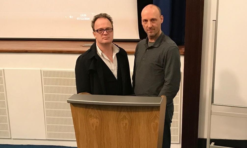 Dr Wallace McNeish and Dr Stuart Waiton.