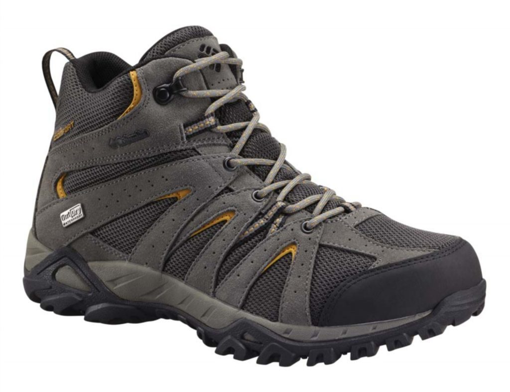 Columbia men's Grand Canyon Mid OutDry Hiking Shoe, £100.