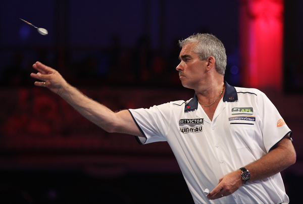 The Bronzed Adonis Steve Beaton is sure to be popular among the ladies.