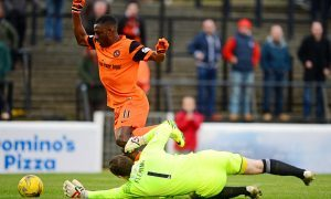 Ayr United 0 Dundee United 1: Tope Obadeyi secures hard-earned win for Tangerines