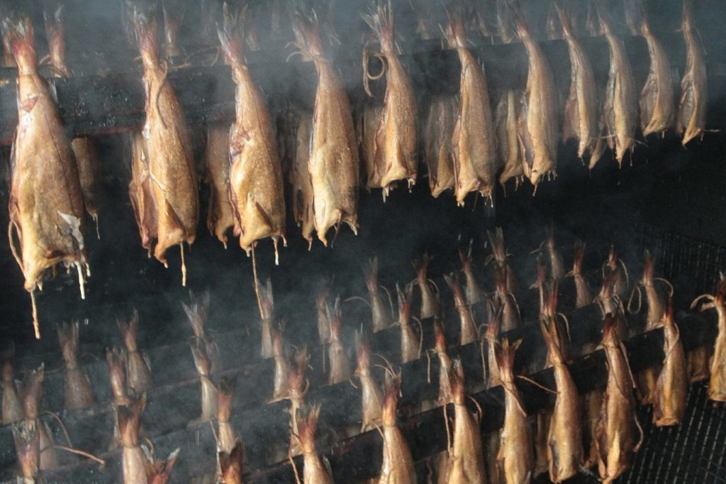 The famous Arbroath smokies.