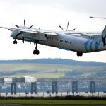 Dundee Airport passenger numbers fall by nearly a third