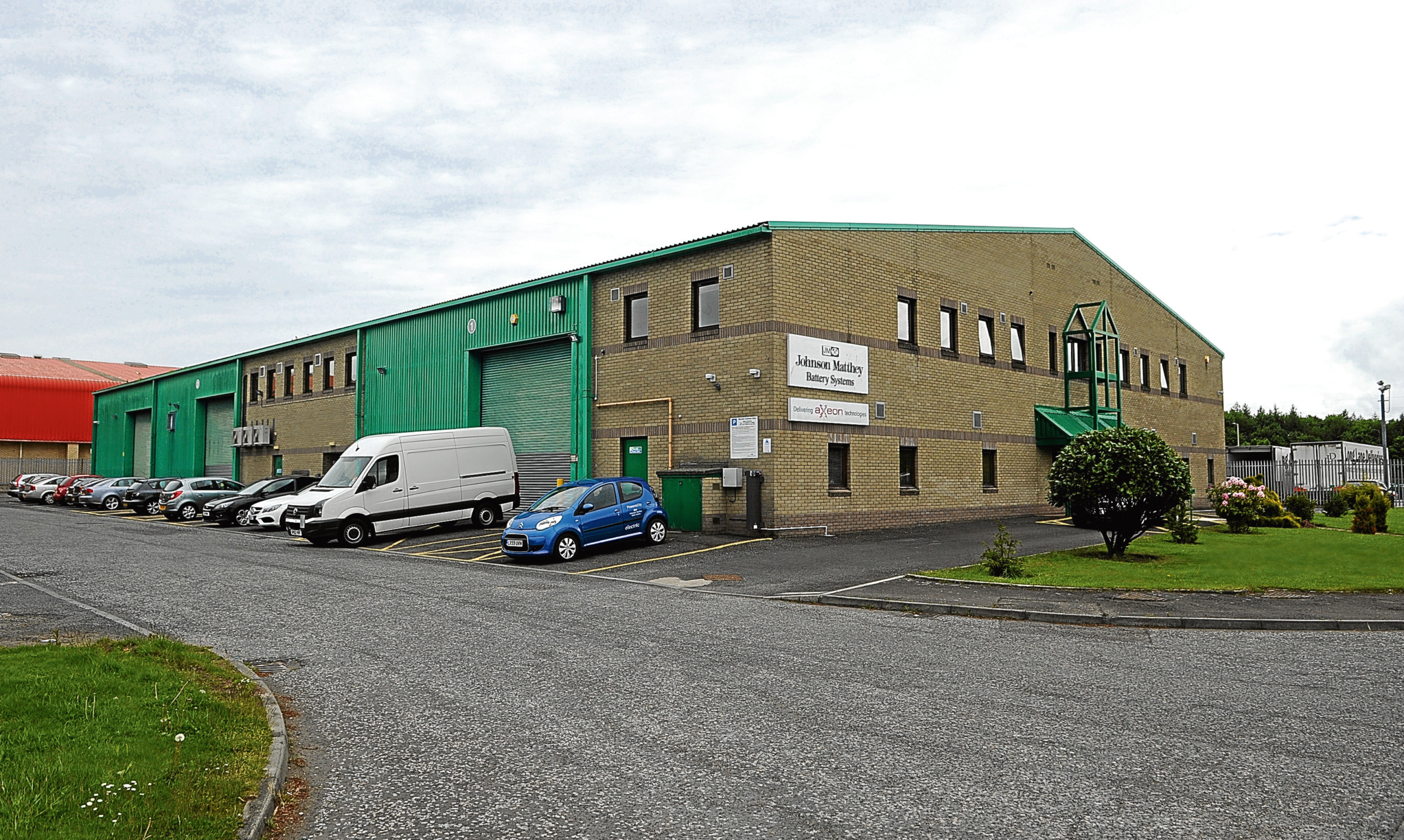 The former Johnson Matthey Battery Systems premises at Wester Gourdie Industrial Estate in Dundee