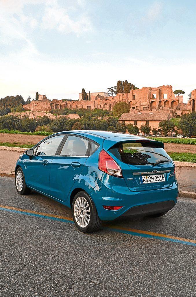 MyKey New Ford Fiesta