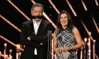 Piers Morgan and Susanna Reid on stage during the National Television Awards, which was followed by people passing cruel judgements on some of the outfits worn.