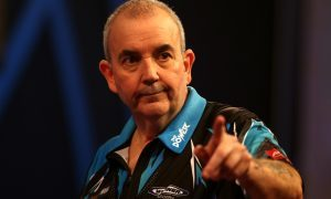 """Phil """"The Power"""" Taylor will be playing for charity at Piperdam this year"""