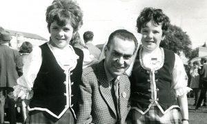 Starr at Strathmartine Hospital fete in September 1971