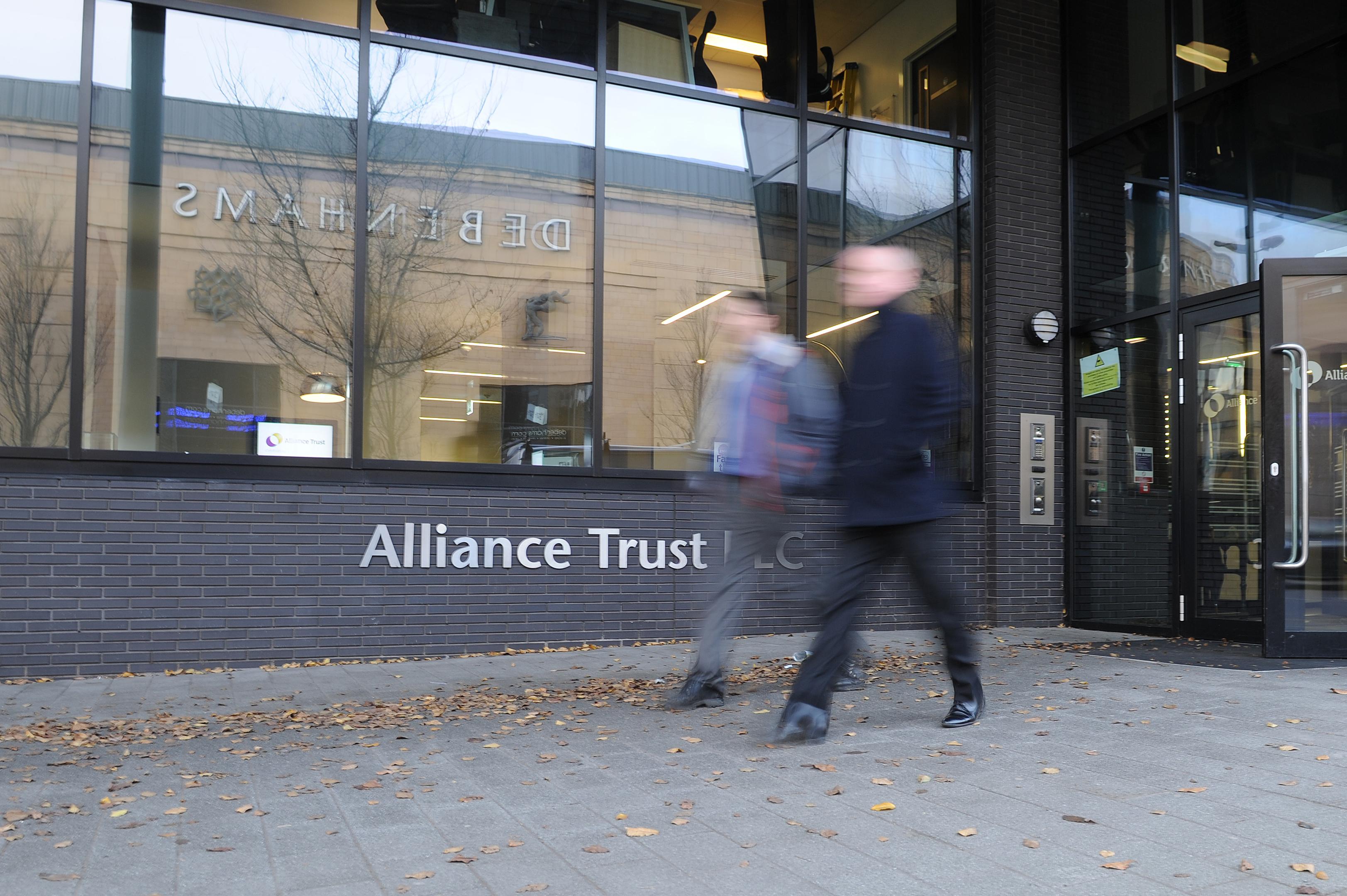 Alliance Trust's headquarters on West Marketgait. Dundee