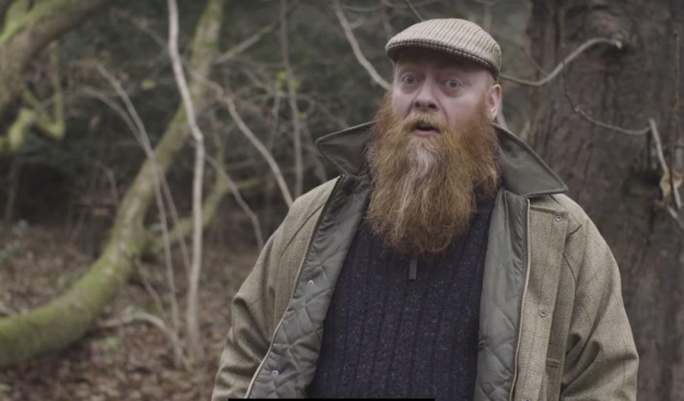 Haggis gamekeeper Archie hunts for the elusive creature