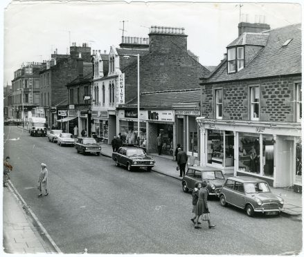 Brook Street, Broughty Ferry in 1971