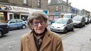 Broughty Ferry Stalwart Irene Walker is 88