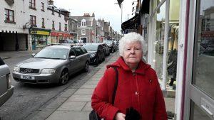 Margaret McMinn on Brook Street