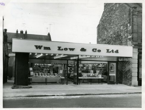 Wm Low's, Broughty Ferry, in 1961