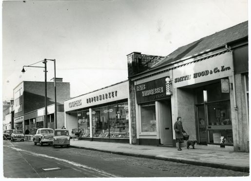 Coopers supermarket in Brook Street, Broughty Ferry, 1963