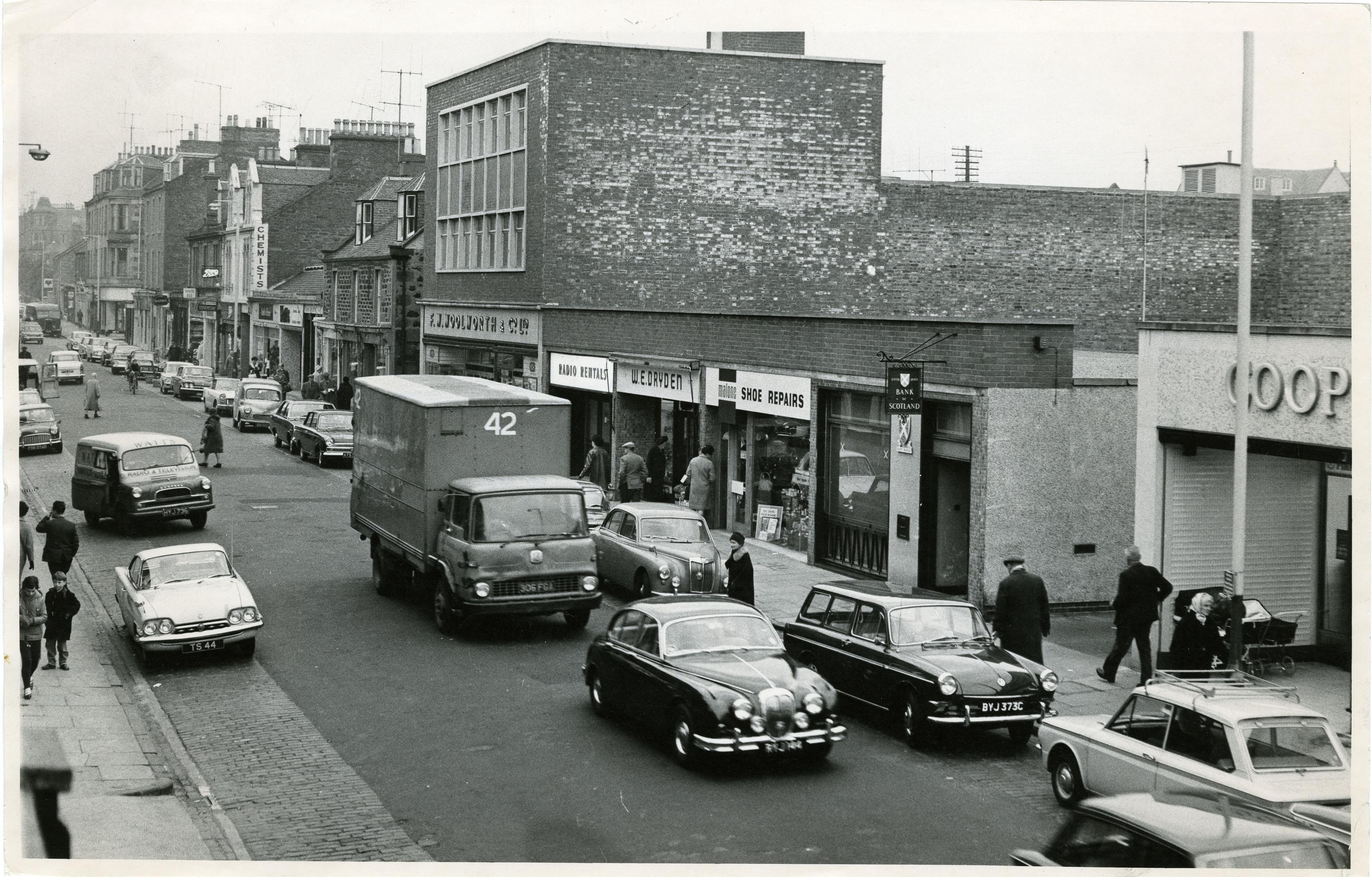 Brook Street, Broughty Ferry in 1966.