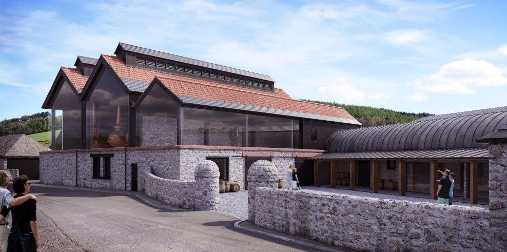 How the new distillery will look