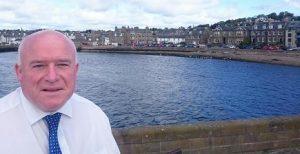 Dundee city councillor Derek Scott