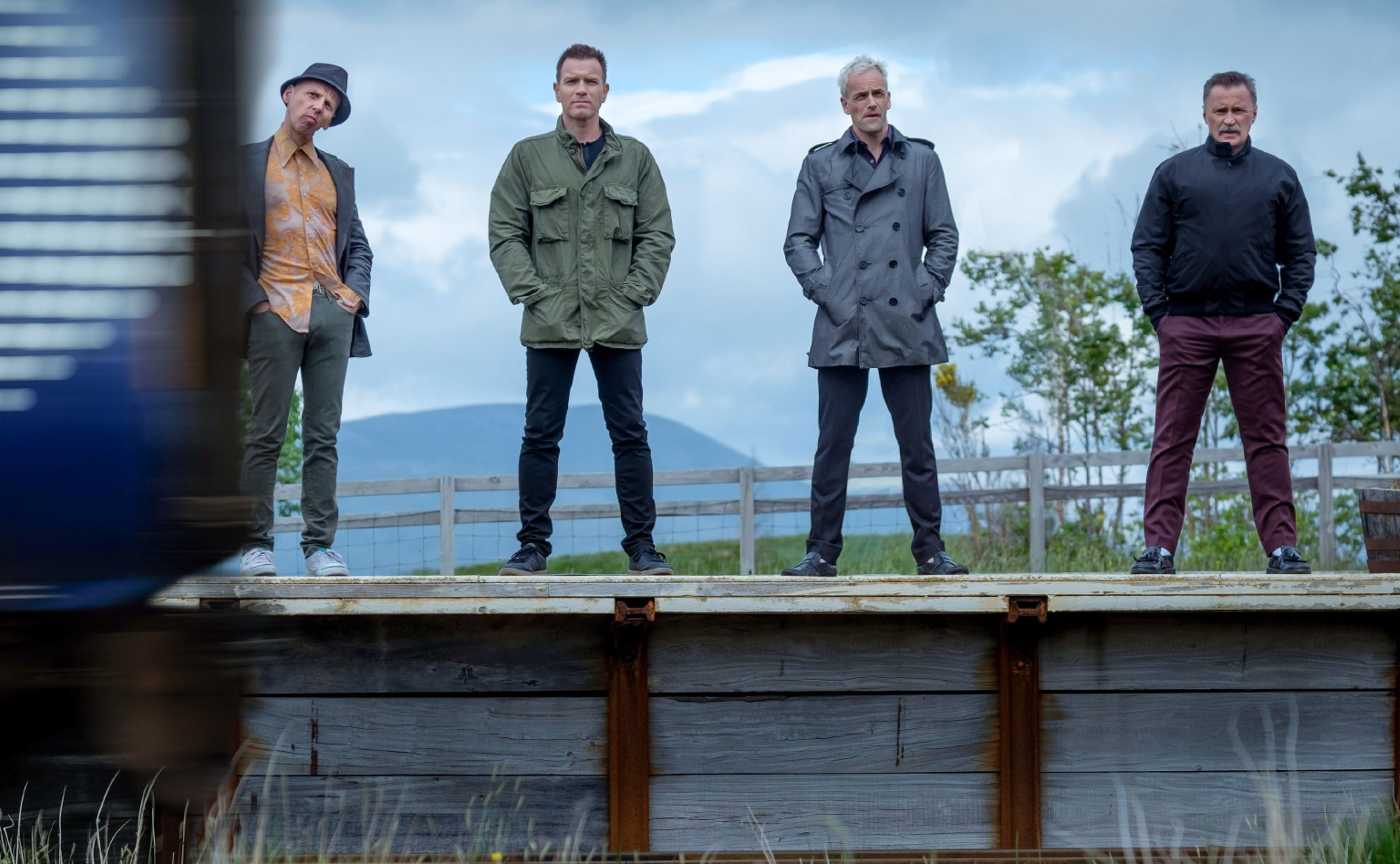 The cast of Trainspotting 2