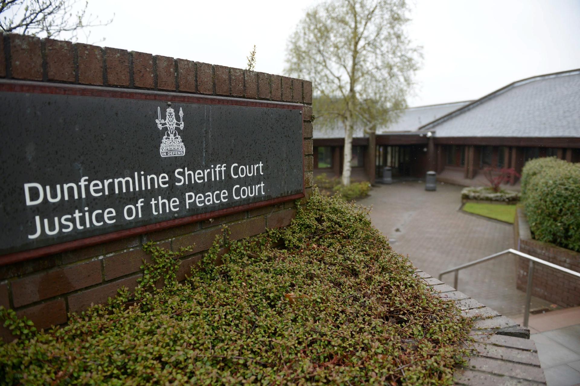 Dunfermline Sheriff Court.