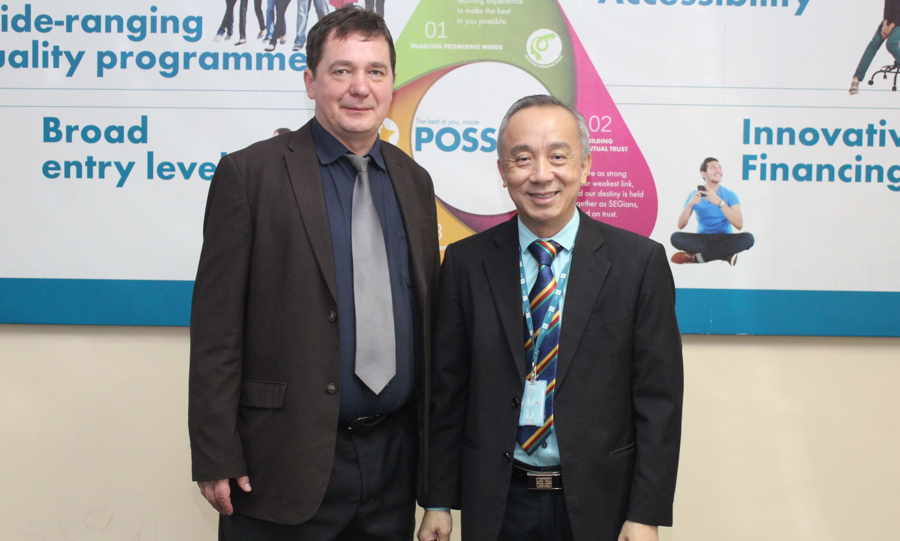 Dr Alex Avramenko and Professor Patrick Kee.