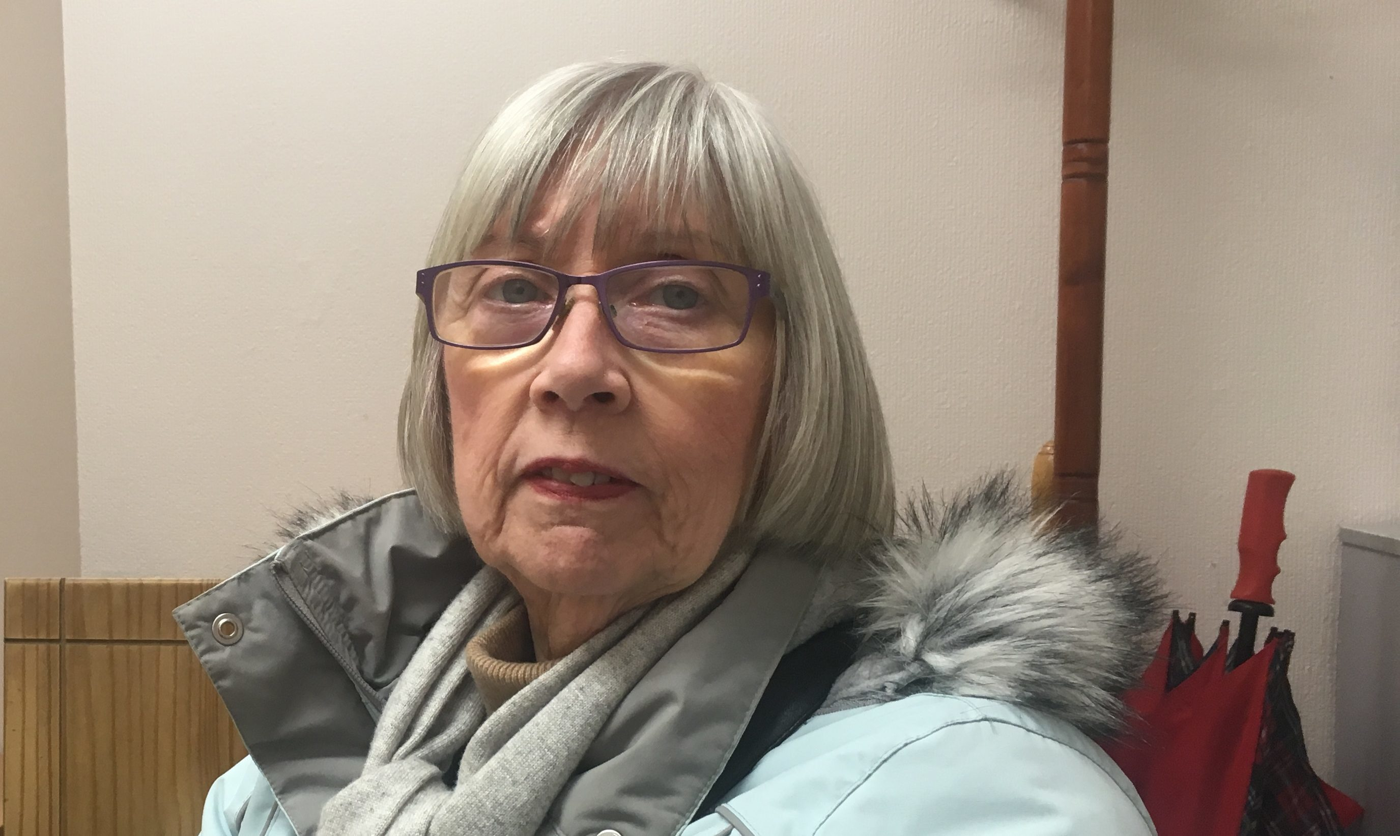 Susan Lamour has reported her missing cane to police.